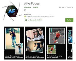 Aplikasi AfterFocus