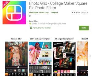 Aplikasi PhotoGrid