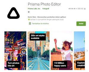 Aplikasi Prisma Photo Editor