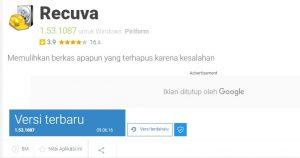 Aplikasi Recuva
