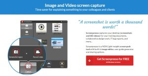 Aplikasi Screenpresso