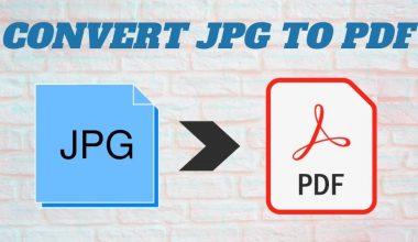 Cara mengubah jpg ke pdf tanpa software