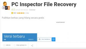 PC Inspectory File Recovery