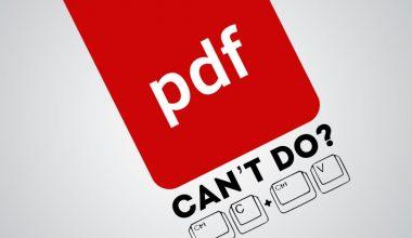 PDF yang Tidak Bisa Di Copy