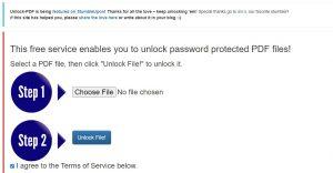Situs unlock-pdf.com
