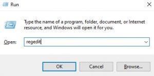 cara mematikan windows update via registry
