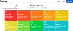 mengecilkan ukuran pdf dengan smallpdf