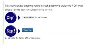 tampilan awal unlock pdf