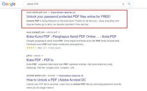 web unlock pdf