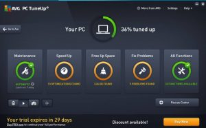 Aplikasi AVG PC Tune Up