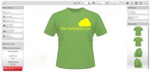 Aplikasi Flash T-Shirt Design