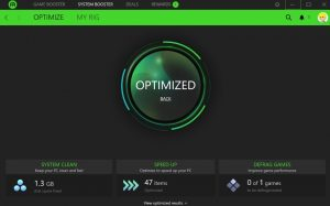 Aplikasi Razer Cortex