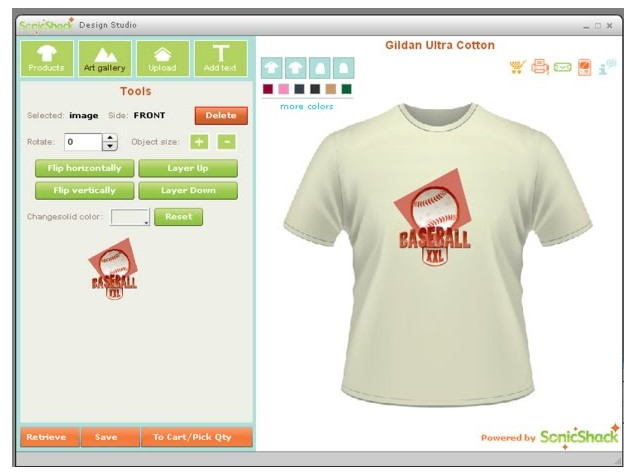 Aplikasi SonicShark Design