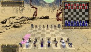 Game War chess 3D