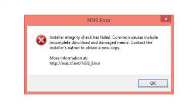 NSIS Error windows 7 8 10