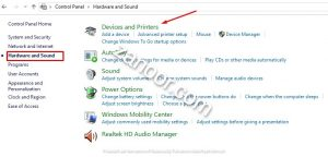 Setting ulang mouse double klik