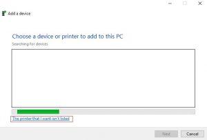 tambahkan printer baru
